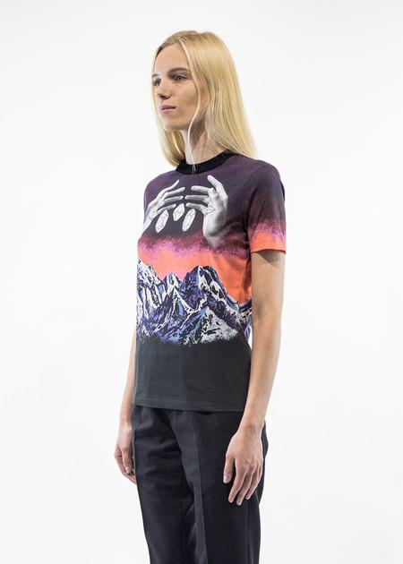 Carven Himalaya Printed Jersey T-Shirt