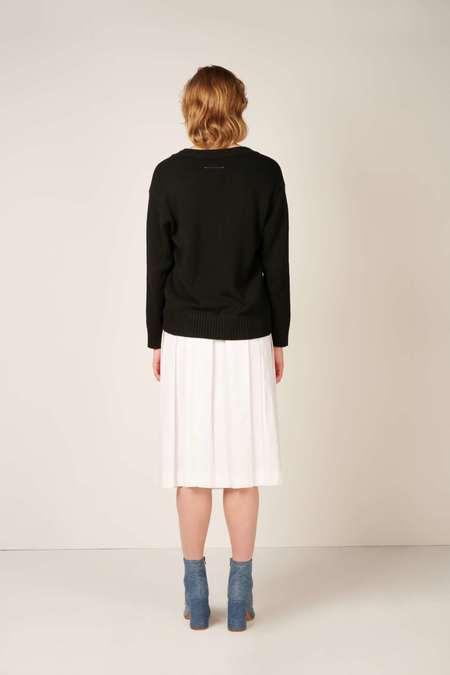 MM6 Maison Margiela Knit cardigan - Black
