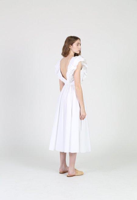 Philosophy di Lorenzo Serafini Poplin Dress - white