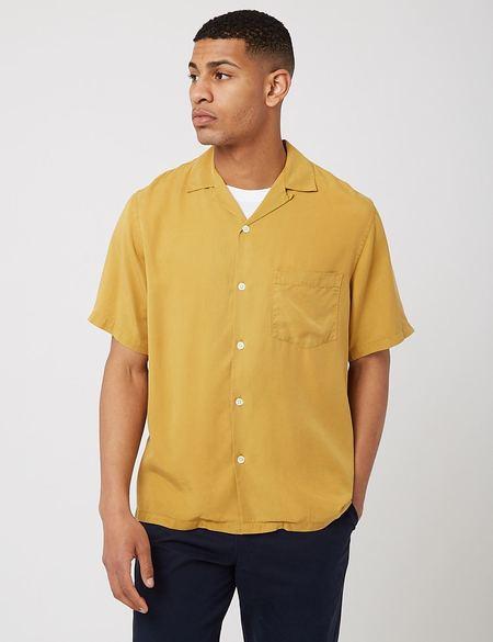 Portuguese Flannel Dogtown Shirt - Mustard