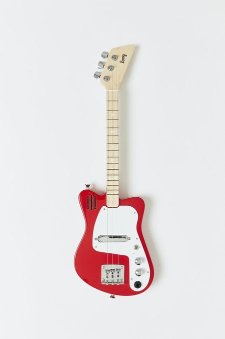 kids Loog Mini Electric Guitar - Red