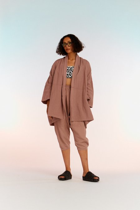 Atelier Delphine Haori Coat - Desert Lavender