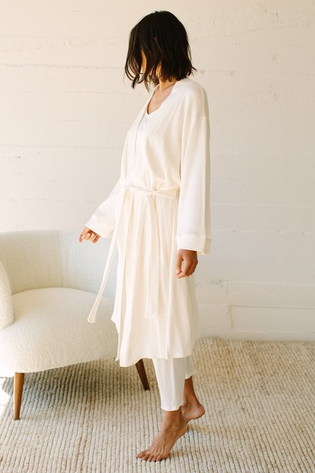 Rachel Pally Hemp Robe - Natural