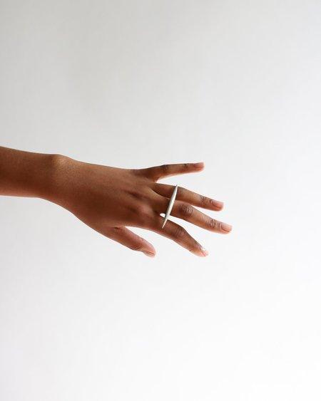 [Pre-loved] Zara Malikova The Dange Ring - Silver