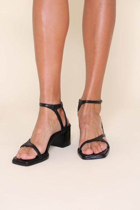"""INTENTIONALLY __________."" FAN shoes - Black"