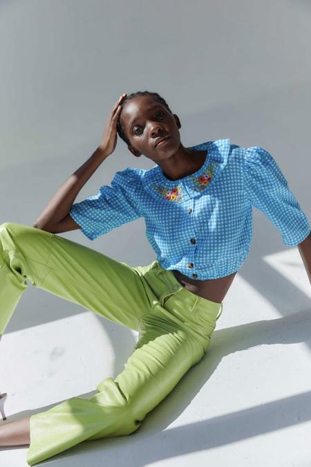 Tach Clothing Vivi Gingham Shirt
