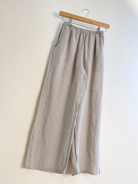 flax Floods Pants - Natural