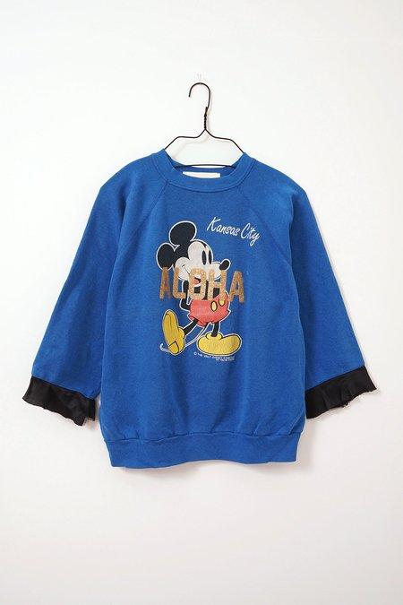 Aquarius Cocktail | AQC MICKEE #13 sweater - blue