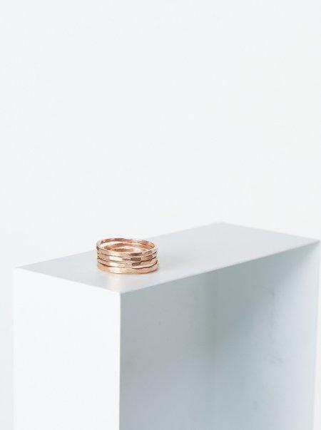 Vintage Stacking Ring - Rose Gold
