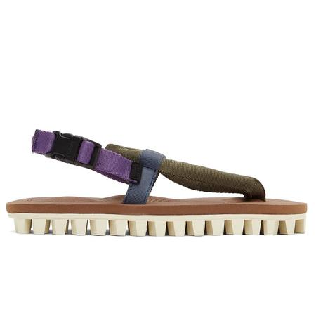 Suicoke Gut shoes - Olive/Brown