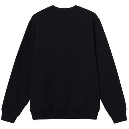Stussy Stock App. Crew sweater - Black