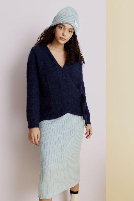 hej hej Moon Trooper Knit sweater - Indigo