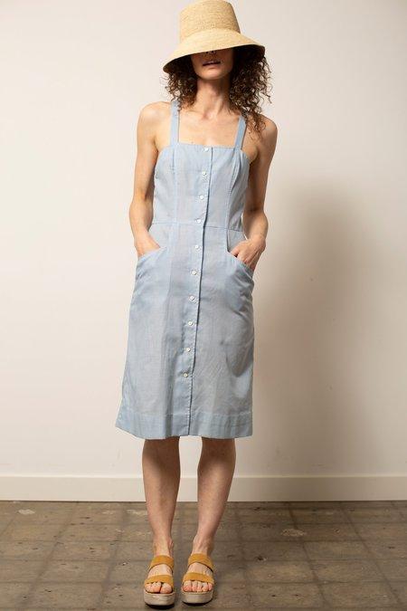Vintage Stripe Sundress - Blue