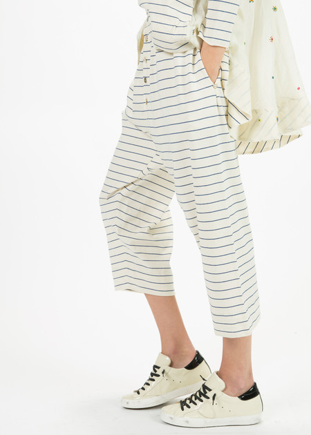 Pero Stripe Cotton Pant