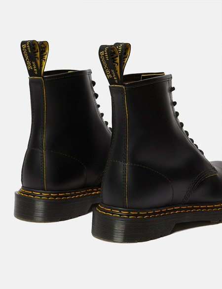 Dr Martens 1460 Double Stitch Boot - Black/Yellow