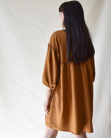 harly jae Paysanne Mini Dress - Caramel