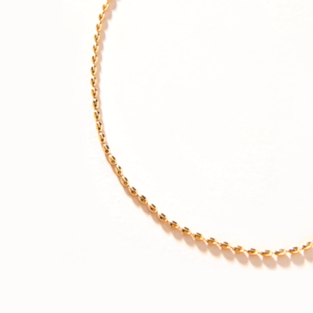 Shashi Baby Fort Knox Necklace - 18k Gold Plate