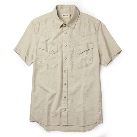 Taylor Stitch The Western Shirt - Natural