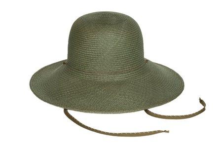 Clyde KOH STRAW HAT - ZUCCHINI