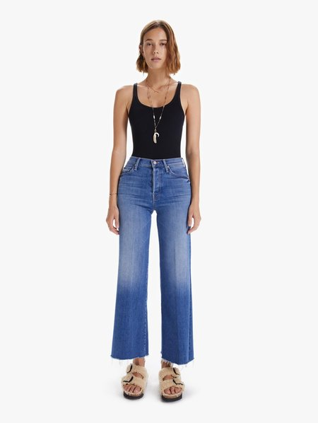 Mother Denim The Tomcat Roller Fray Jeans - A Groovy Kind Of Love