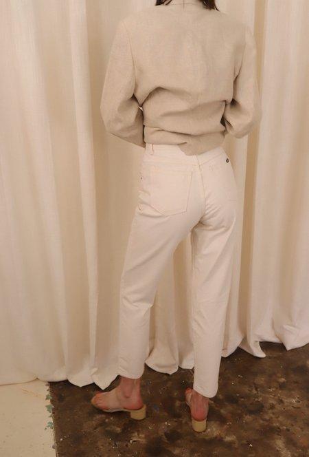 Vintage Bonjour Denim - White