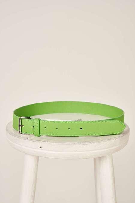 MM6 Maison Margiela 4 stitch belt - Green
