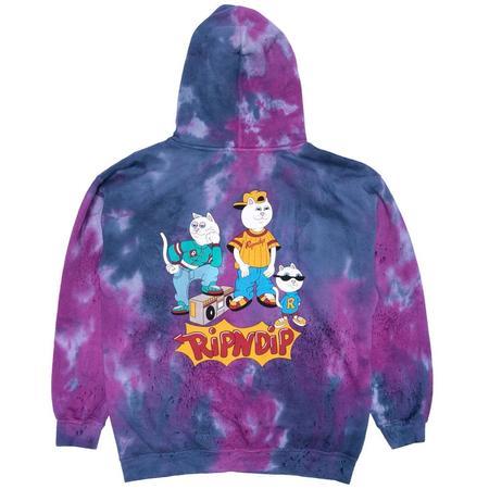 RIPNDIP Nerm And The Gang Hoodie - Tie Dye
