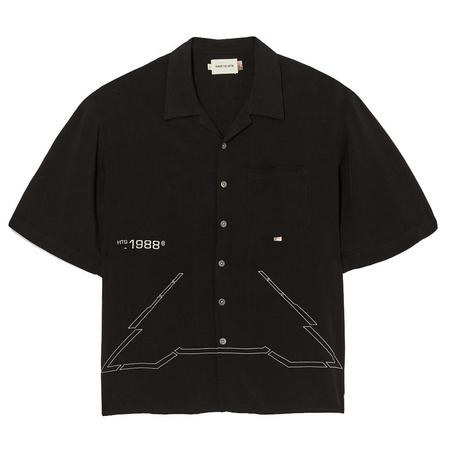 Honor The Gift Squadron Camp S/S Button Up - Stealth
