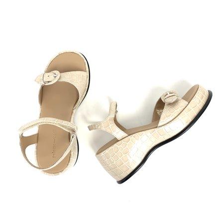 Paloma Wool Forbes sandals - Ecru