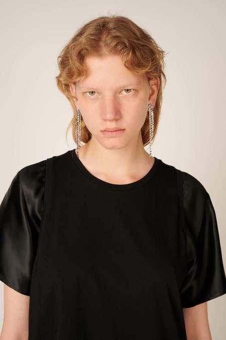 MM6 Maison Margiela Embellished Single Earring - Brass