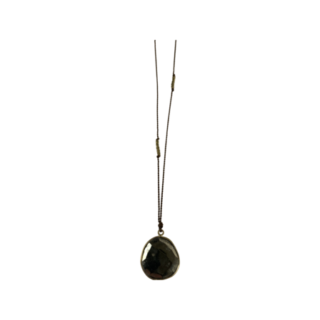 Margaret Solow Pyrite Necklace