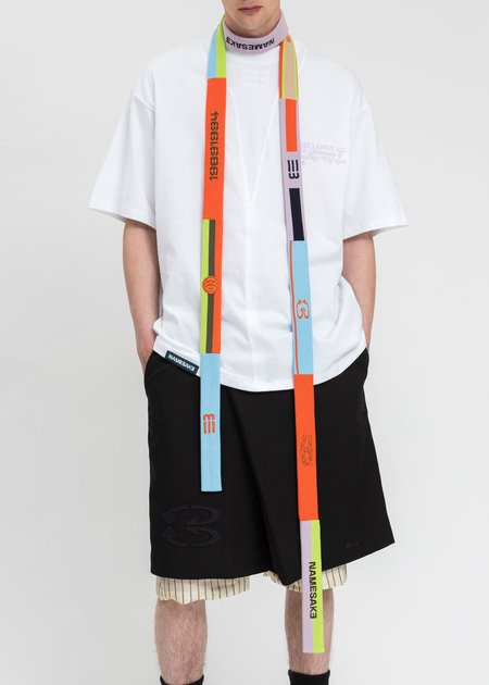 NAMESAKE Rainbow Headband Scarf - Multi