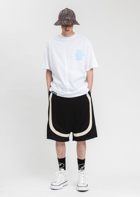NAMESAKE Sava Oversized Scrimmage T-Shirt - White