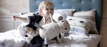 KIDS LuckyBoySunday Sleepy Mause Toddler Duvet Set