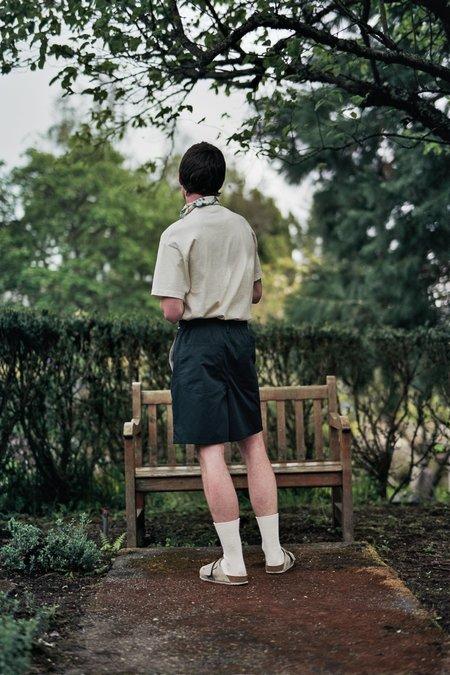 Camiel Fortgens Knee Short - Black Cotton