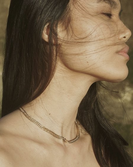 Mountainside Made Ivy Necklace - 18k gold fill