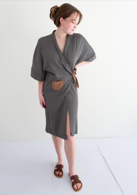 Bellerose Arty Wrap Robe Dress