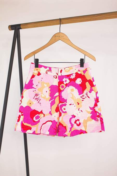 La Double J Good Butt Shorts - Peonia Rosa