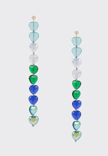 Paloma Wool Mcguire Earrings - Intense Green