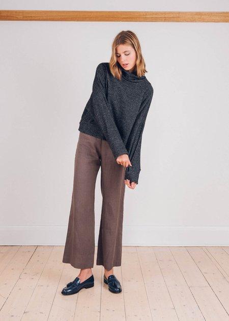 FME Apparel The Big Woolly Jumper - Black Speckle