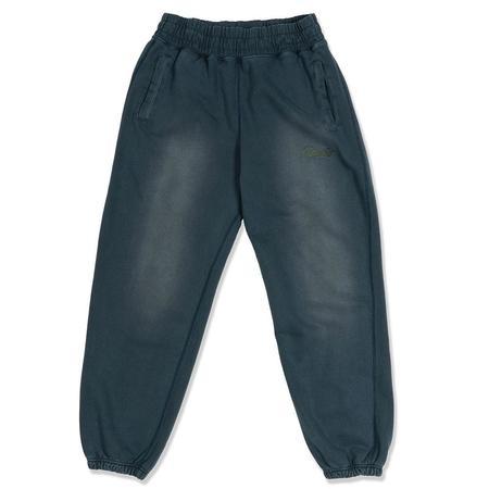 AWAKE Sunbleached Logo Sweatpants - Blue