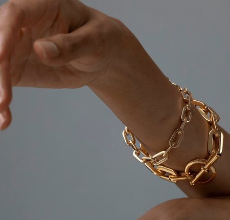 Jenny Bird Toni Bracelet Small - Gold