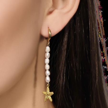 Montserrat New York The Cala Earrings - 24k gold