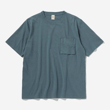Jackman Pocket T-Shirt - Shadow Sax