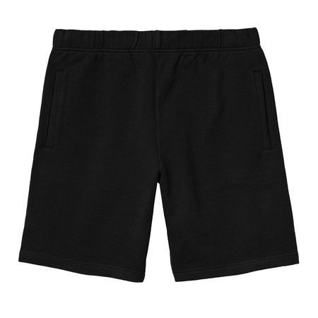 Carhartt Wip Pocket Sweat Short - Black