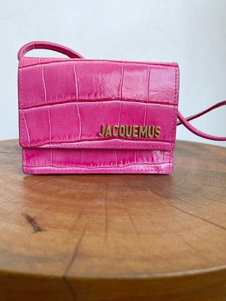 [Pre-loved] Jacquemus Le Bello Embossed Mini Bag