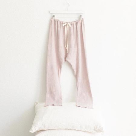 ADVICE Article Three Drawstring Pants - Dusk Pink