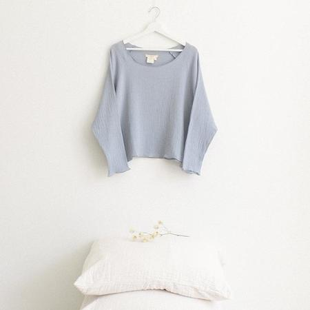 ADVICE Article Two Everyday Top - Periwinkle Blue