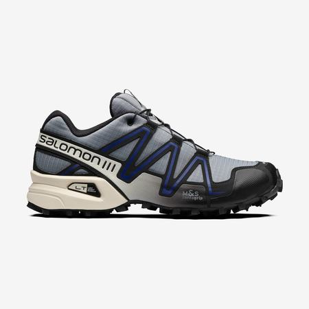 UNISEX SALOMON Speedcross 3 - Monument/Black/Clematis Blue