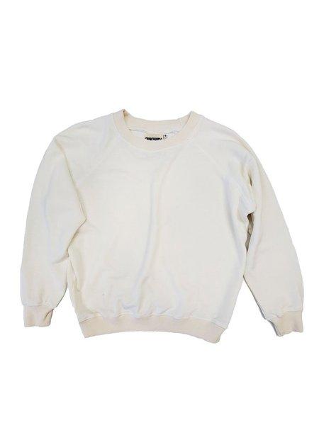 Jungmaven Bonfire Raglan Sweatshirt - Washed White